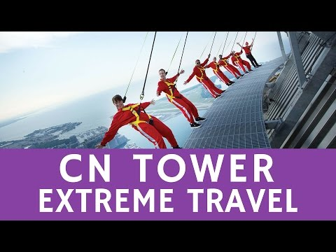 Extreme tourism: breathtaking Edge Walk @ CN Tower