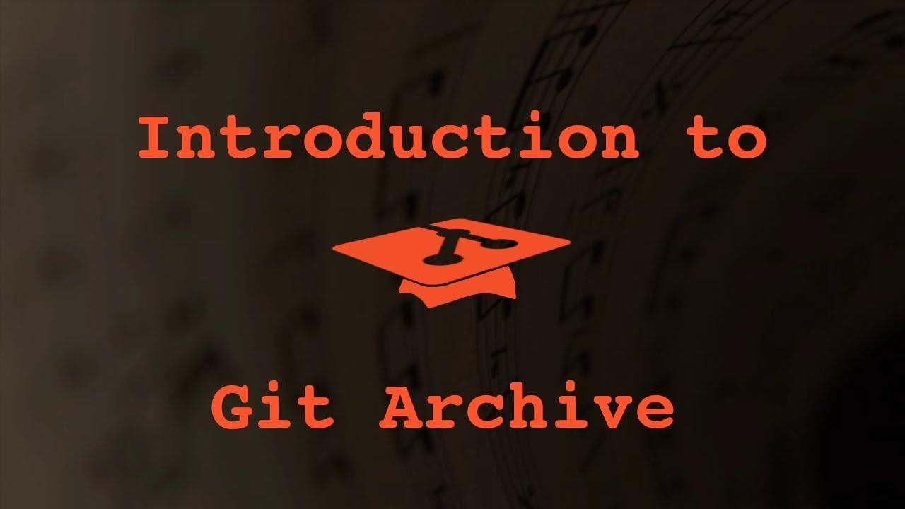 017 Git Archive