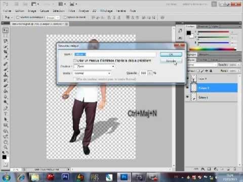 Comment cr er une ombre r aliste avec photoshop cs5 youtube - Comment realiser une video ...