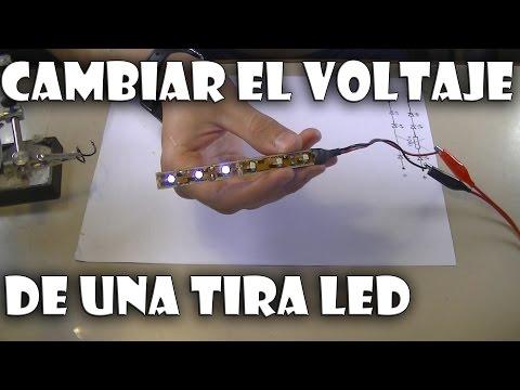 Cómo encender una tira de leds con 3V o más!