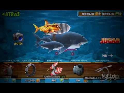 hack hungry shark evolution monedas y gemas infinitas 2018