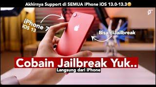 Cara Jailbreak Untuk Pemula ☺️ Gampang! Support Semua iPhone iOS 13.0 - 13.3 ! ft.Satria - iTechlife