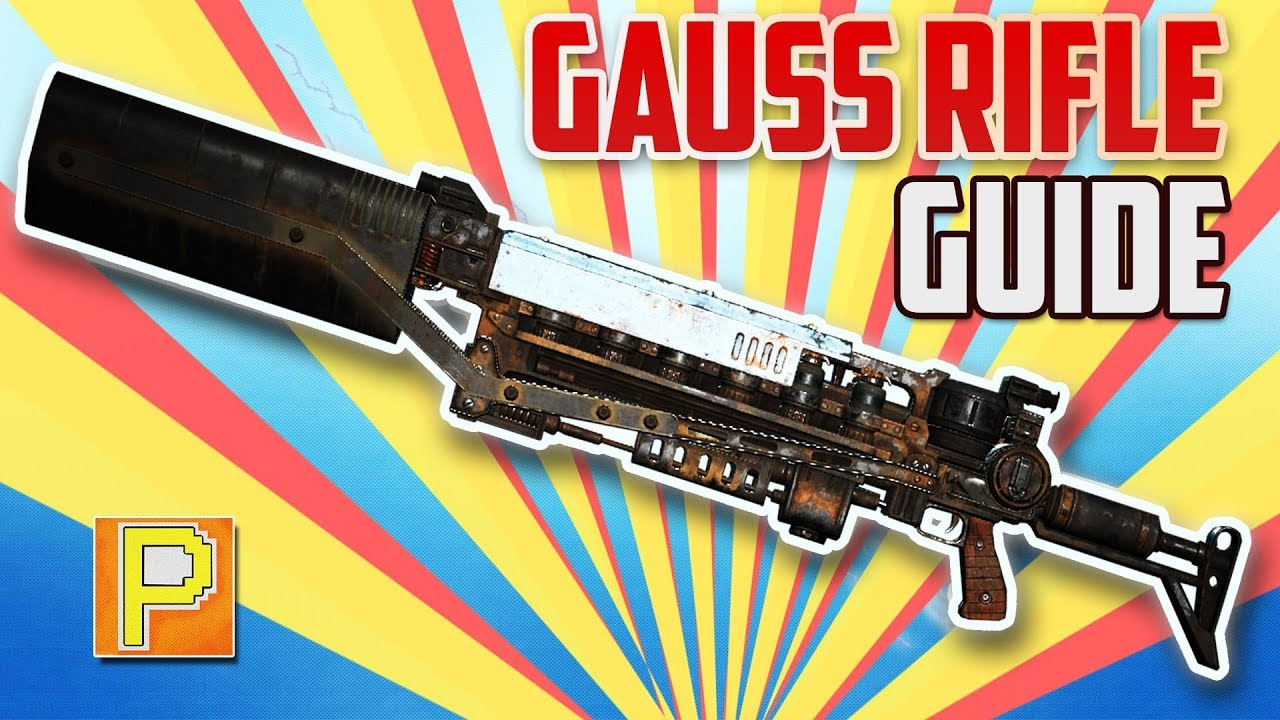 Fallout 76 - Gauss Rifle | Best Energy Weapon | [RARE WEAPON GUIDE]