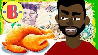 Cartoon-Comedy: Ein nigerianischer ar Einem Londoner Restaurant | Kurz-Cartoons