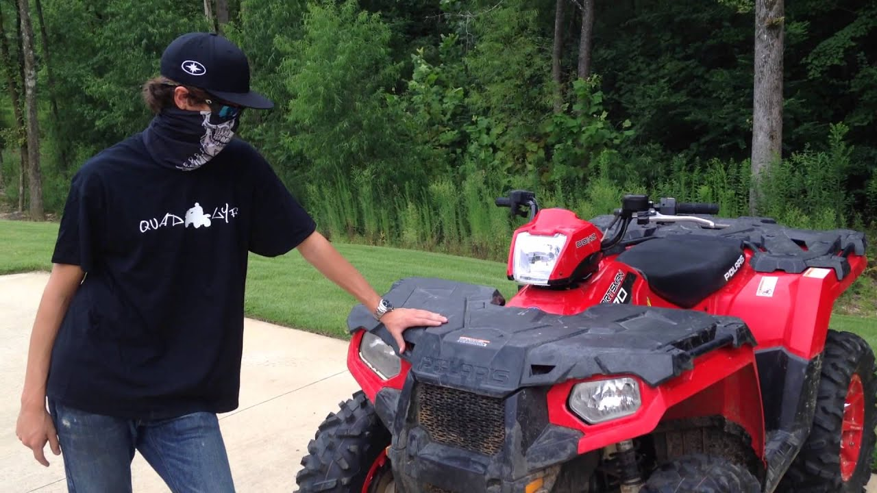 Walk Around Of My 2014 Polaris Sportsman 570 Efi 4x4 With