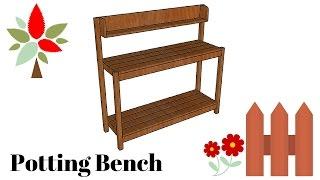 Free Potting Bench Plans