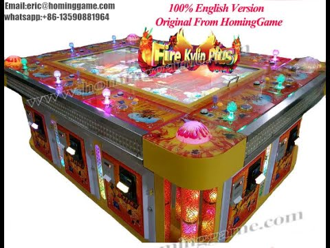 2016 best tiger strike fishing game machine fire kylin for How to play fish table game