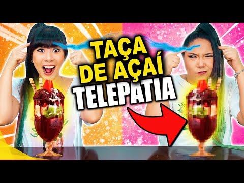 TAÇA DE AÇAÍ POR TELEPATIA!!