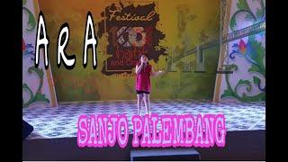 Lagu anak anak Pertama di kota Palembang - SANJO PALEMBANG