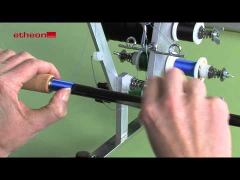 Rutenbau - Ringmontage / Rutenringe Montieren