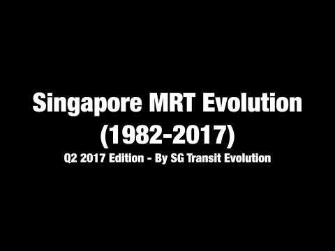 Singapore MRT Evolution 2Q 2017 lite (4K)