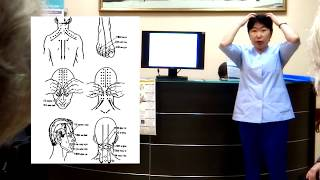 Точки на теле человека от боли. Тибетская медицина.