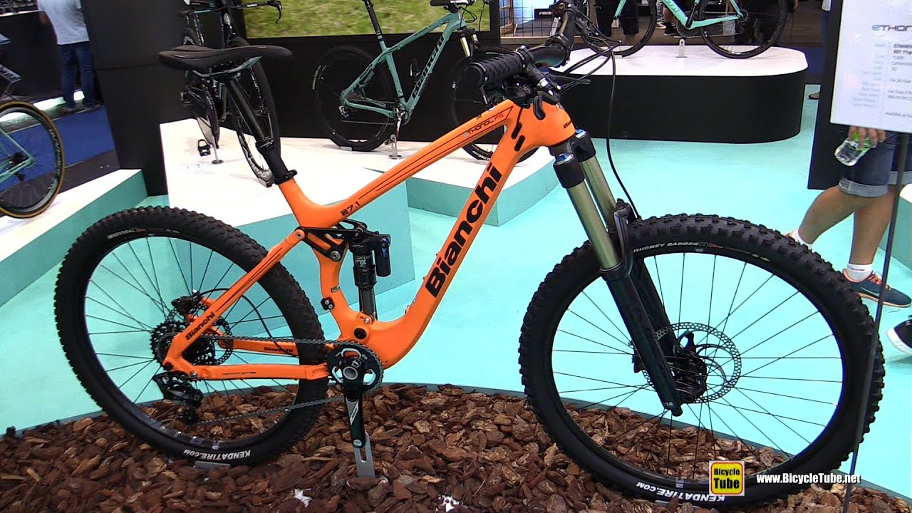 d9327618c59 2016 Bianchi Ethanol 27.1 FS Bike - Walkaround - 2015 Eurobike