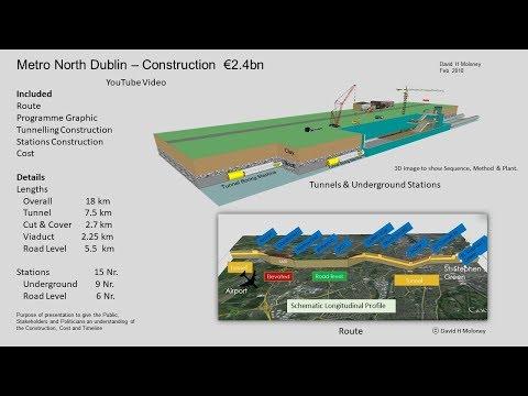 Metro North Dublin Construction