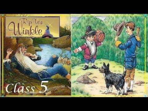 Rip Van Winkle    Class 5 Unit 5    Marigold book    Hindi explanation