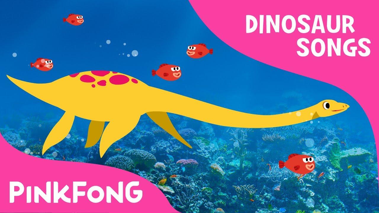 elasmosaurus dinosaur songs pinkfong songs for children youtube