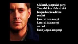 BUNGA - KASIH JANGAN KAU PERGI - Text Cover 2013