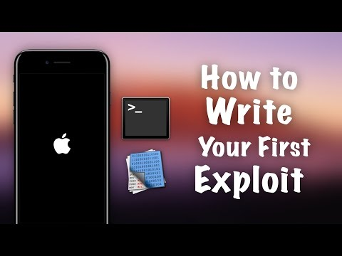Become an iOS Hacker - How to Write Your First Exploit using