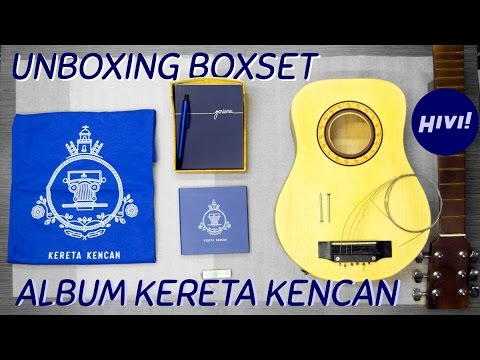 Unboxing Album Boxset HIVI! - Kereta Kencan