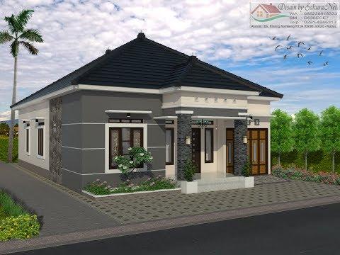Rumah Minimalis Lantai 1_Modern House (10x15)