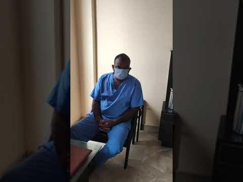 कोविड अस्पताल में तैनात डाॅक्टर का वीडियो वायरल, चीन की पीपीई किट पहनने से इंकार