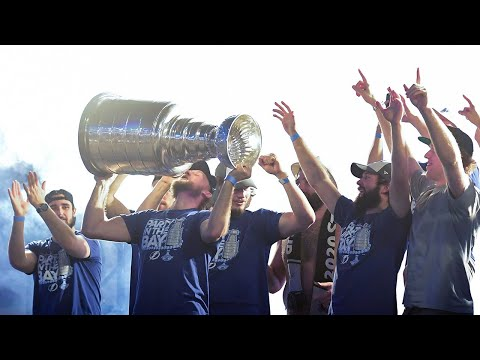 Lightning bring the Stanley Cup back to Tampa Bay