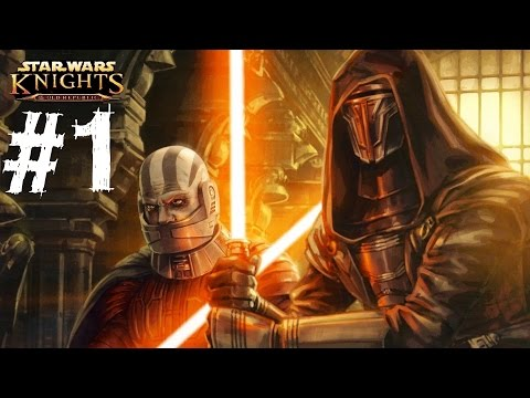 Star Wars Knights of the Old Republic Gameplay Walkthrough Part 1 Let's Play Review 1080p HD