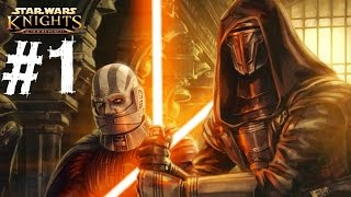 Star Wars Knights of the Old Republic Gameplay Walkthrough Part 1 Let