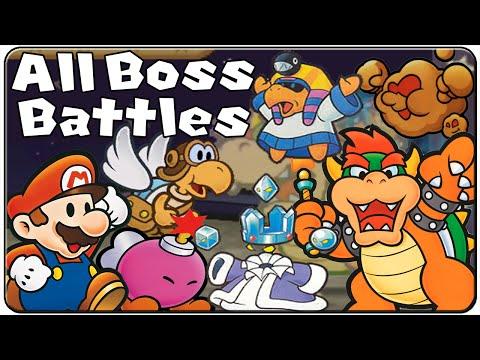 Paper Mario All Bosses