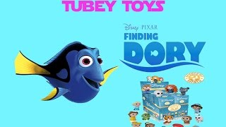 Disney Pixar Finding Dory Mystery Blind Bag & Nemo Tubey Toys Toy Unboxing Video + Mystery Minis