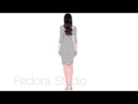 Платье тельняшка Marine от FEDORA STUDIO