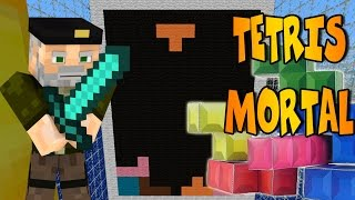 TETRIS ASESINO!! Mini-Juego | MINECRAFT Map