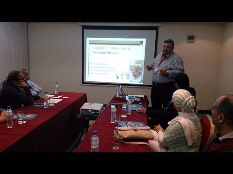Prof Khaled El ataway talk in Port said neonatology group Dubai workshop, February 2014