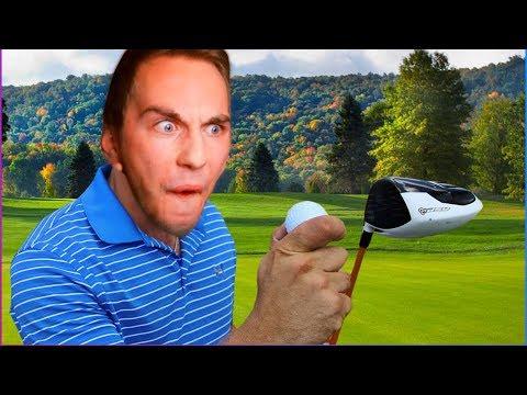 5 Mennesker skal spille ... SAMTIDIGT? | Golf it M. RobinSamse, Kaja & Gamle!