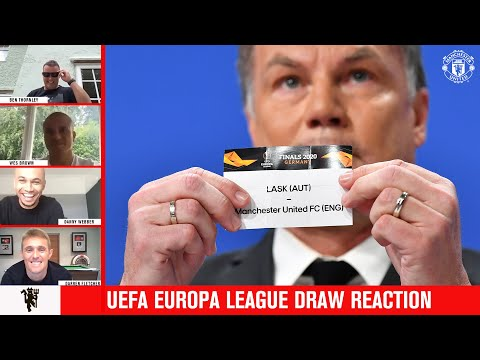 UEFA Europa League draw reaction | Darren Fletcher joins us | Manchester United