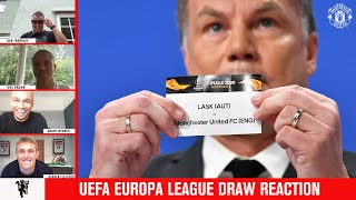Uefa Europa League Draw Reaction   Darren Fletcher Joins Us   Manchester United
