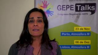 GEPE Talks Lisboa 2016