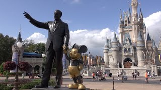 Walt Disney World 4 Park Tour | Magic Kingdom EPCOT Disney's Hollywood Studios and Animal Kingdom!