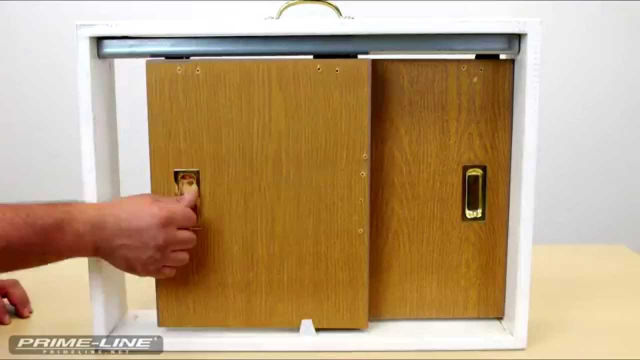 how to install a closet door finger pull youtube. Black Bedroom Furniture Sets. Home Design Ideas