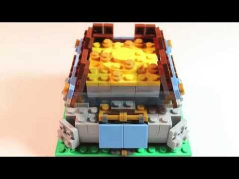 How to build a LEGO Clash of Clans Gold Storage!