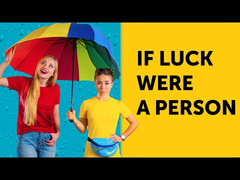 IF LUCK WERE A PERSON || Comedy by 5-Minute FUN