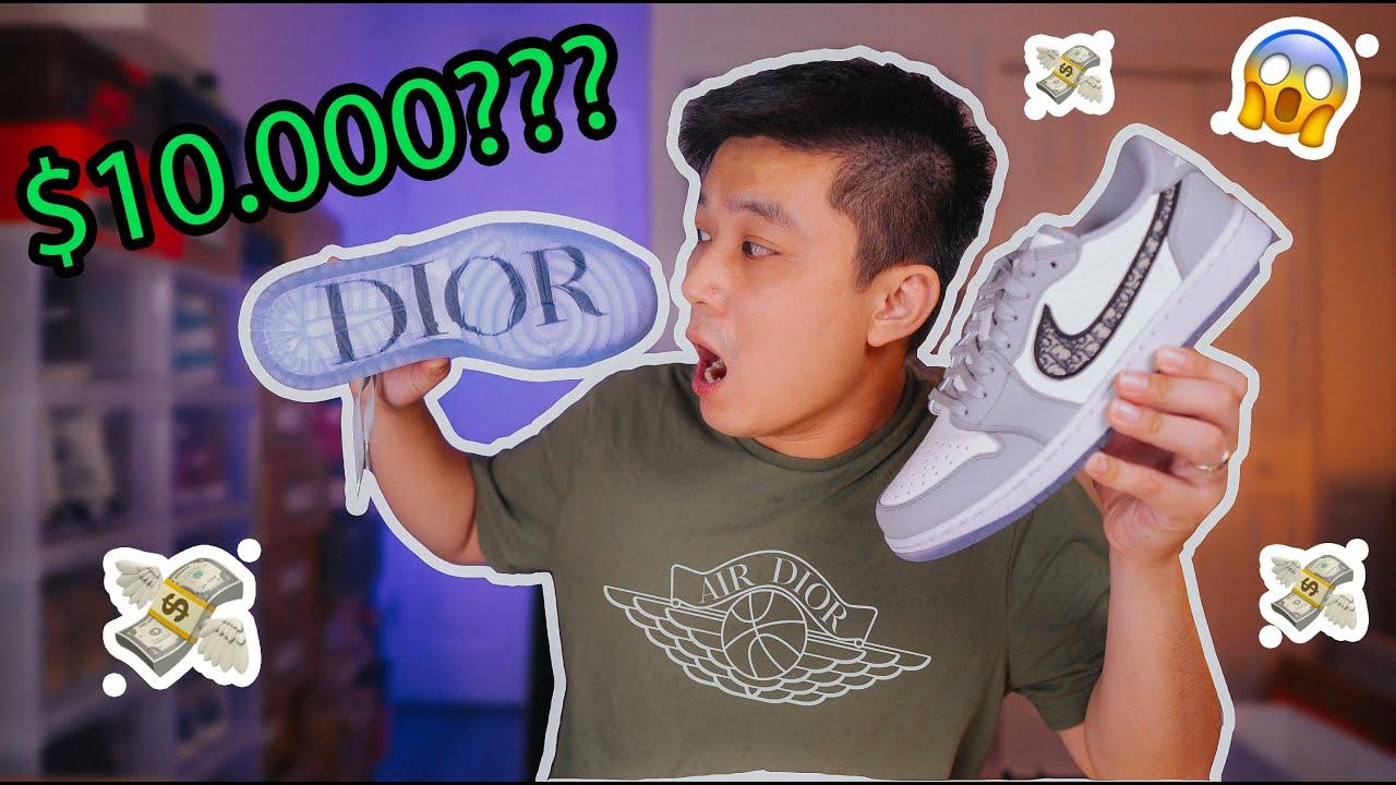 Đập Hộp + Đánh giá đôi Air Jordan 1 DIOR low - SNEAKER OF 2020???