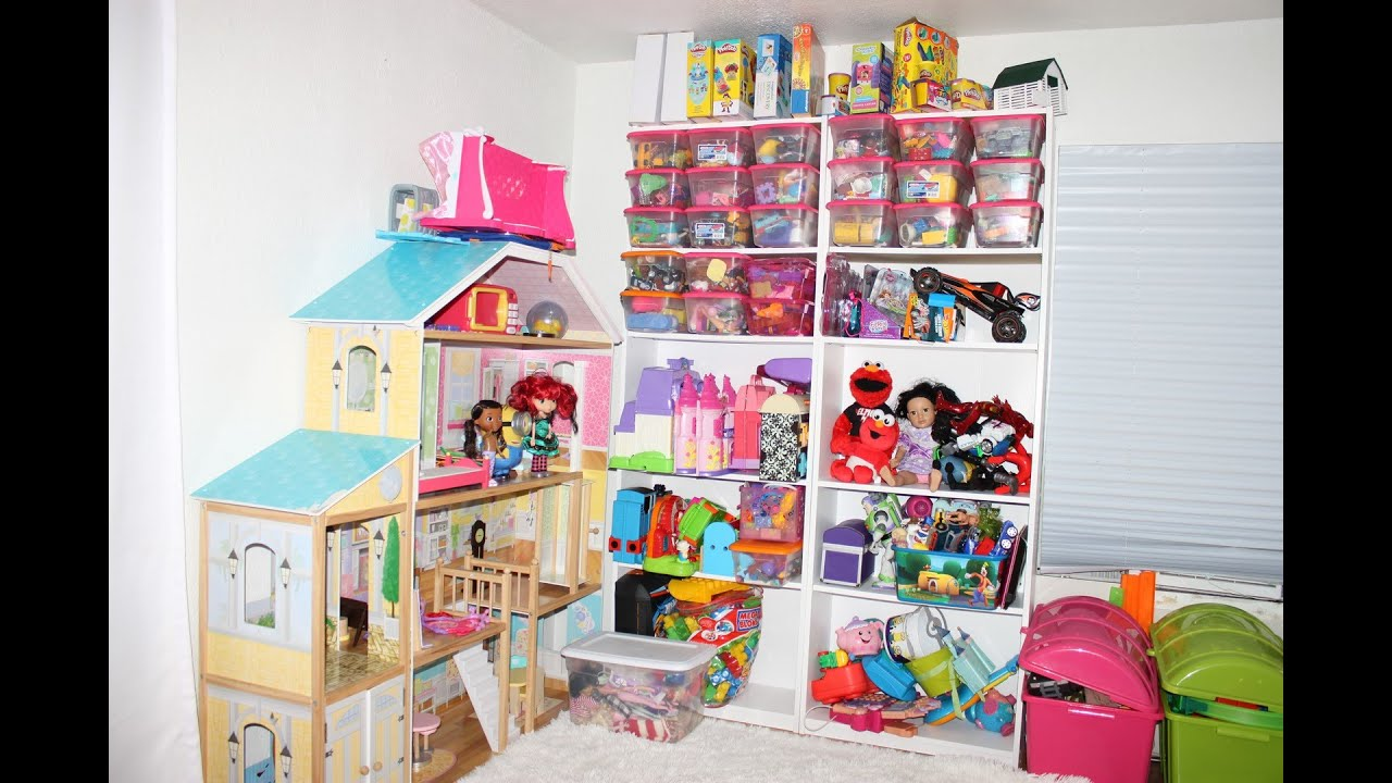 How To Organize Toys Best Storage For Kids Toys Youtube