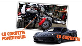 homepage tile video photo for Reassembling a Corvette C8 | David Tracy's Car Adventures