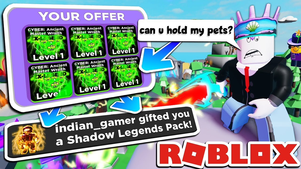 indian gamer roblox If You Don T Scam You Get A Free Pack Ninja Legends Roblox Youtube