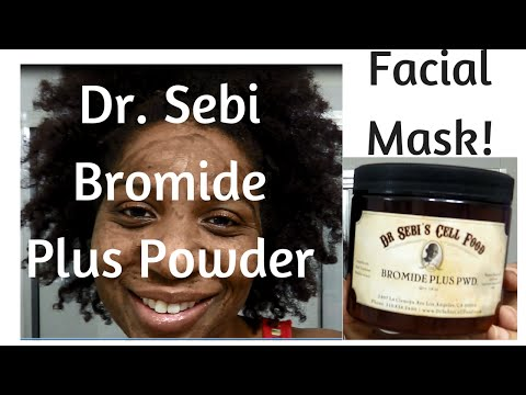 TREAT ECZEMA USING DR SEBI BROMIDE POWDER - YouTube