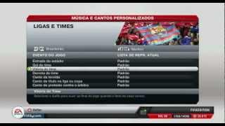 FIFA 13 - Tutorial e download Gritos de Torcida Brasileirão