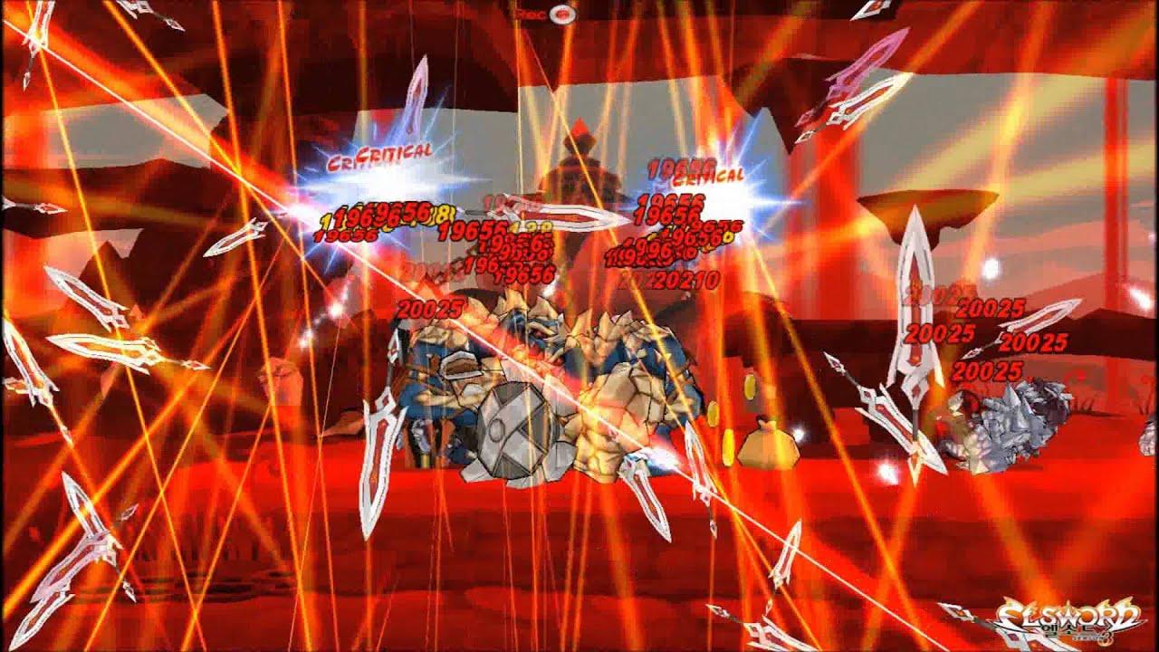 Elsword Kr Infinity Sword Blade Rain Dungeons Sander