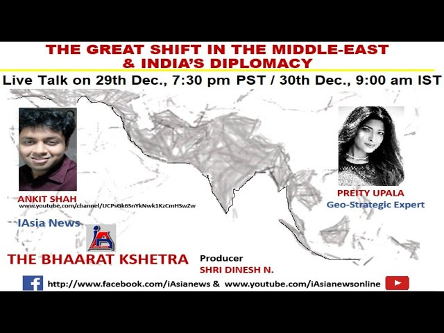 The Great Shift in the Middle-East & India's Diplomacy