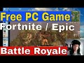 Get Fortnite Battle Royale Free, 1st Person Shooter Game, from Epic Games